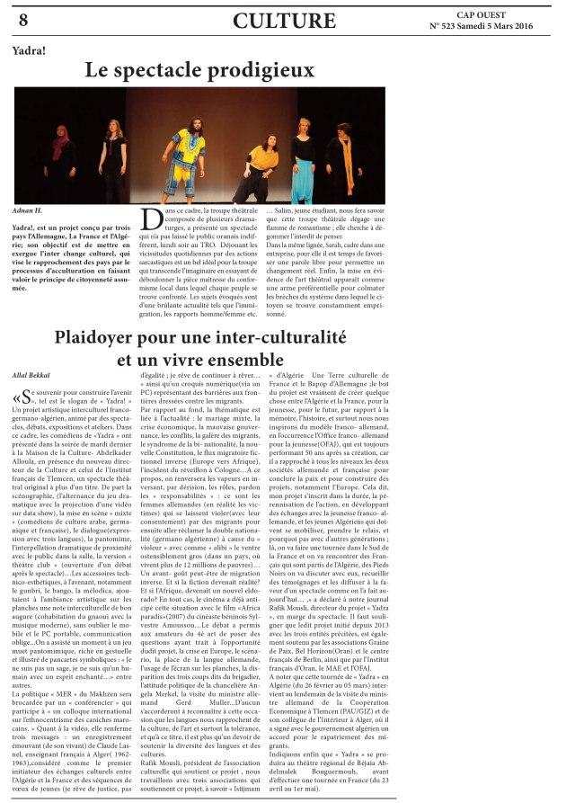 Article d'Allal Bekkaï